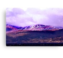 Overlooking Coniston Water Canvas Print