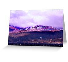 Overlooking Coniston Water Greeting Card