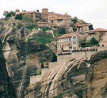 meteora by Andrea  Thorpe