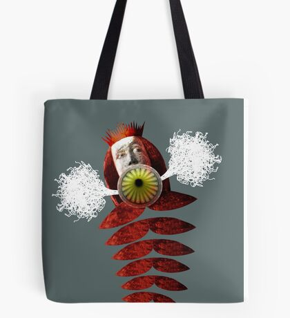 Authority Figure Hot Air Balloon Tote Bag