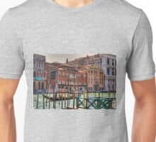Gondolas on the Grand Canal Unisex T-Shirt