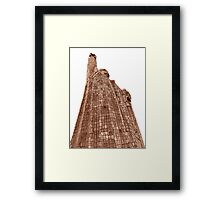 ©MS Morelos Monument At Janitzio IIIAFX. Framed Print