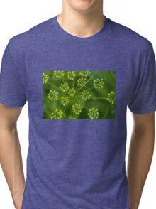 Green galaxies Tri-blend T-Shirt