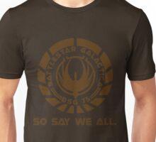 Battlestar Galactica Seal Unisex T-Shirt