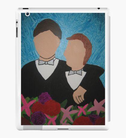 Gay Wedding Artwork iPad Case/Skin