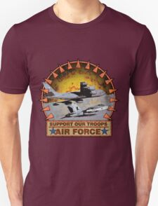 Air Force Refual plane, Support Our Troops Unisex T-Shirt