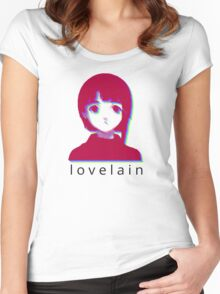 love lain Women's Fitted Scoop T-Shirt