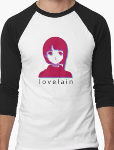 love lain Men's Baseball ¾ T-Shirt