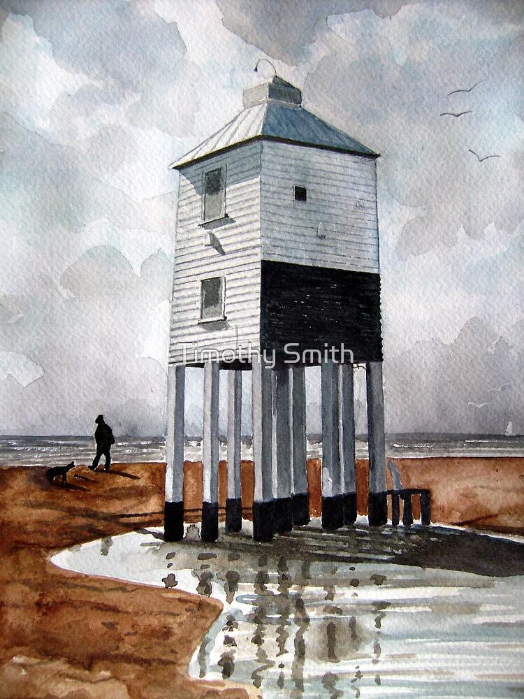 Beach Lighthouse, Burnham-on-Sea, Somerset by Timothy Smith