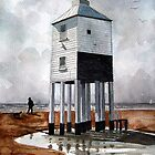 Beach Lighthouse, Burnham-on-Sea, Somerset by Timothy Smith