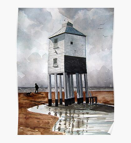 Beach Lighthouse, Burnham-on-Sea, Somerset Poster