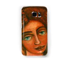 Flora, Goddess of the Seeds closer  Samsung Galaxy Case/Skin