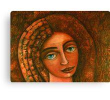 Flora, Goddess of the Seeds closer  Canvas Print