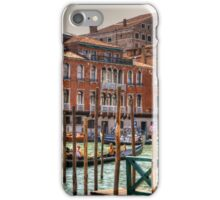 Gondolas on the Grand Canal iPhone Case/Skin