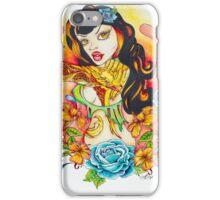 Pin Up Art - Comic Art - Flight of the Phoenix iPhone Case/Skin