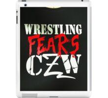 Wrestling fears CZW iPad Case/Skin