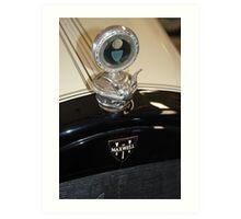 The art of the car: Radiator Temp Art Print