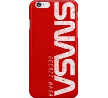 SNASA (Secret NASA Typography) iPhone Case/Skin