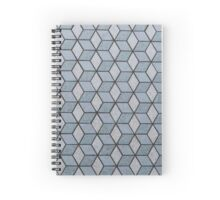 Seamless Squares And Blocks Background Spiral Notebook