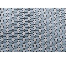 Seamless Squares And Blocks Background Photographic Print