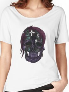 Plant Skull (3) Women's Relaxed Fit T-Shirt