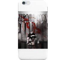 Wwe cm punk edit iPhone Case/Skin