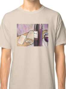 Wine and Cheese Tonight Classic T-Shirt