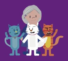 Cathy and The Crazy Cats by JoshCooper