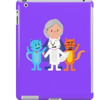 Cathy and The Crazy Cats iPad Case/Skin