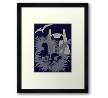 Welcome to Jurassic World  Framed Print