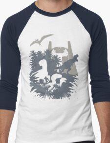 Welcome to Jurassic World  Men's Baseball ¾ T-Shirt
