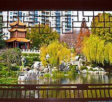 Chinese Gardens, Sydney, Australia  by Michelle Lia