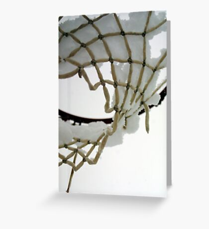 Iced Hoops Greeting Card