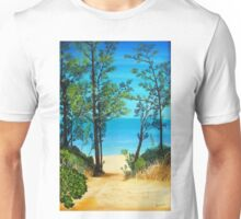Sandbanks beach Unisex T-Shirt