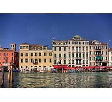 Across the Grand Canal Photographic Print