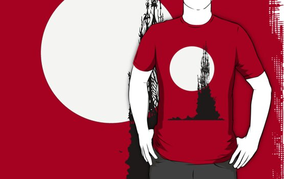 Moonrock Spire ~ T Shirt Edition by Samantha Creary