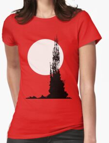 Moonrock Spire ~ T Shirt Edition Womens Fitted T-Shirt