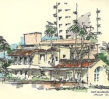 Fort Laudadale Cafe by J J