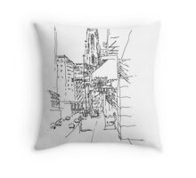 Pittsburgh Cathedral of Learning Throw Pillow