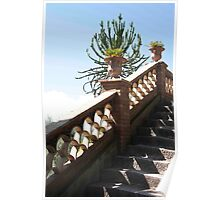 Sicilian Staircase Poster