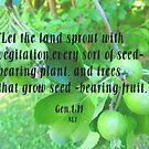 Gen,1:11 vegitation by MaeBelle