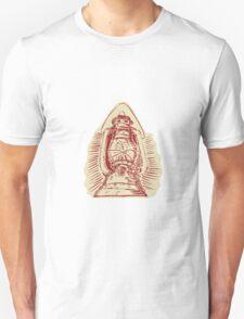 Kerosene Lamp Etching T-Shirt