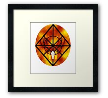 Within the confines of wilted hearts Framed Print