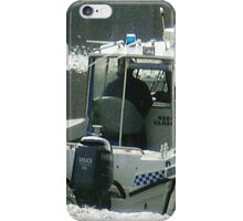 *Water Police - Melbourne, Vic. Aust.* iPhone Case/Skin