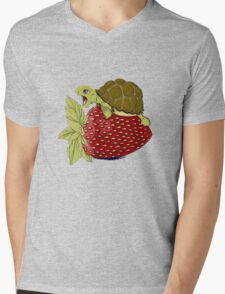 Turtle berry Mens V-Neck T-Shirt