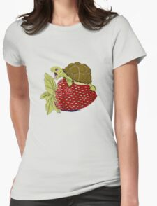 Turtle berry Womens Fitted T-Shirt