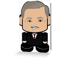 Lindsey Graham Politico'bot Toy Robot 1.0 Greeting Card