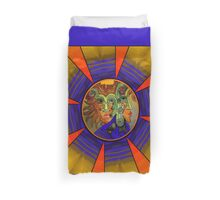 Royal Mystery with Sunset Duvet Cover