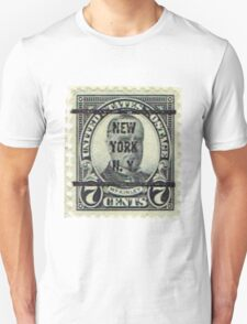 Antique Black NYC Stamp T-Shirt
