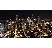 Seattle: Retail Core Photographic Print